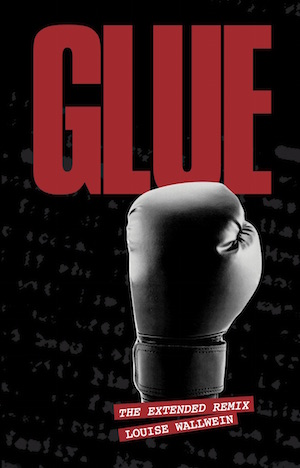 Glue book cover