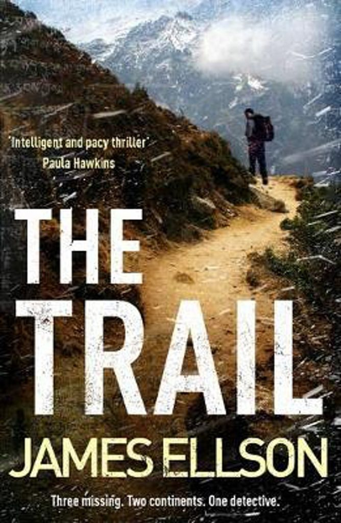 The trail book cover